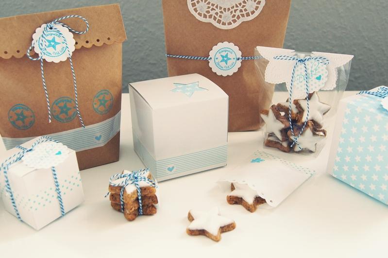 pl tzchen und kleine geschenke zu weihnachten kreativ verpacken nicest things. Black Bedroom Furniture Sets. Home Design Ideas