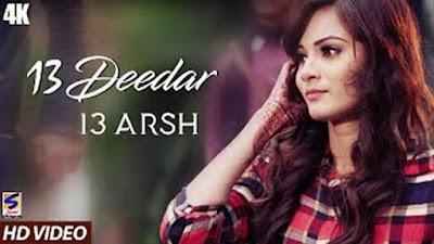 13 Deedar Lyrics 13 Arsh | Mr Beat | Punjabi Song