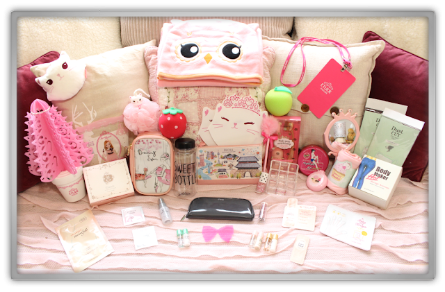 Etude House Haul Review Accessories Decor Kawaii Cute Pink Ebay Beauty Korean Cosmetics Dreaming Princess Etti