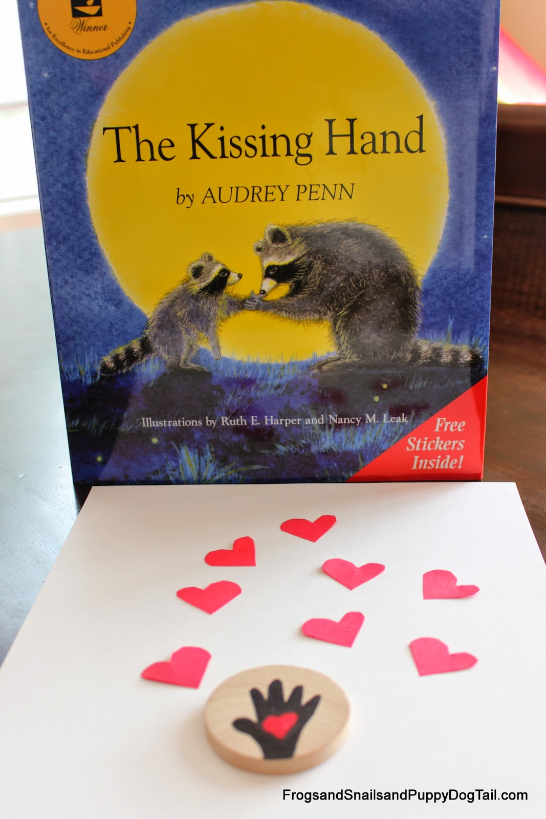 Frogs And Snails And Puppy Dog Tail Fspdt Kissing Hand Book Craft And Activity