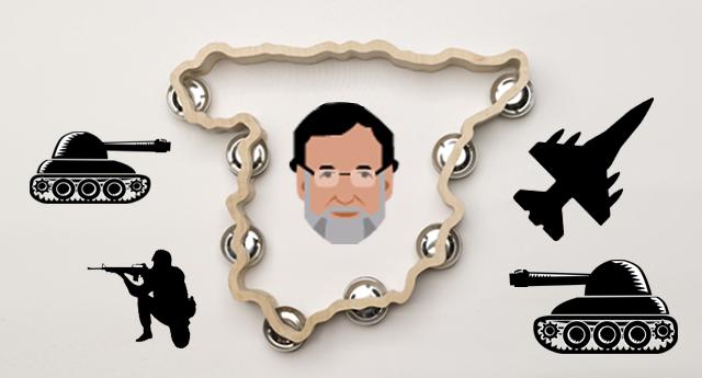 Rajoy aumenta en 1.162 millones el gasto militar sin informar al Parlamento