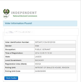 INEC: How To Check Voters Status