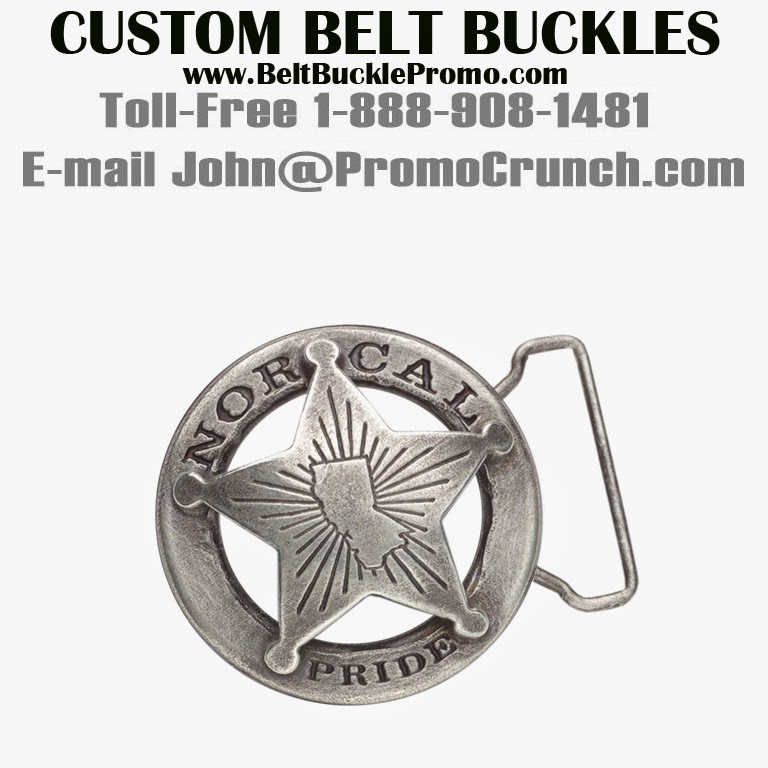 Custom Belt Buckle Promo: Nor Cal Sheriff Custom Belt Buckle