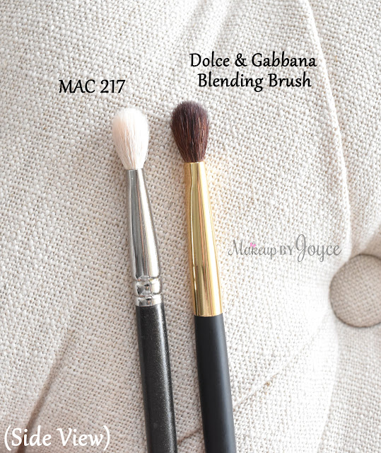 Dolce & Gabbana Beauty Blending Brush Review MAC 217 Dupe