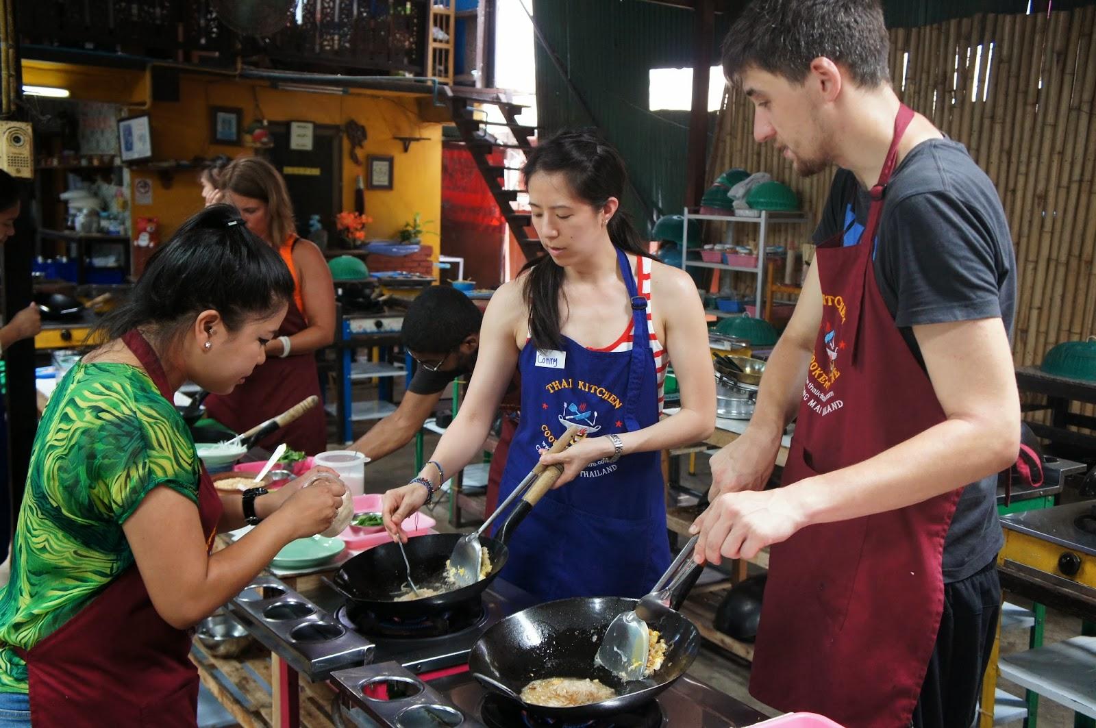 Chiang Mai - Making Pad Thai
