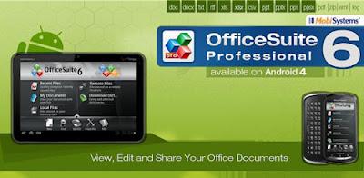 OFFICESUITE PRO 6 [ PDF+HD ] FINAL APK