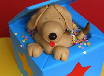Dog Birthday Cakes From Onceuponacakeau