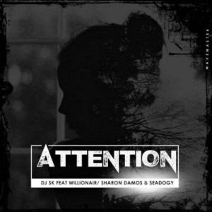 DJ SK t. Willionair ,Sharon Damos & Seadogy - Attention (2018)