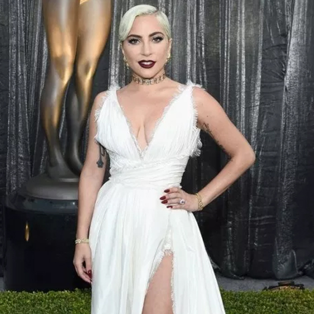 Lady Gaga Attends 25th SAG Awards