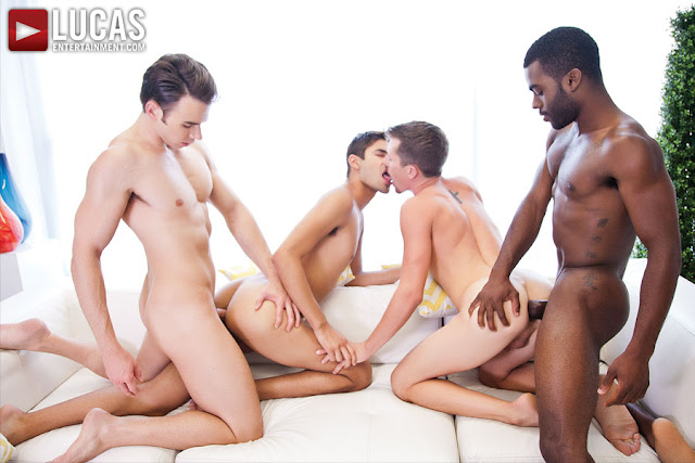 Addison Graham, Taye Knight, Andrew Markus, and Shawn Andrews | Raw Foursome