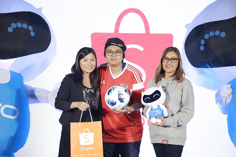 Vivo seals partnership with Shopee and Akulaku