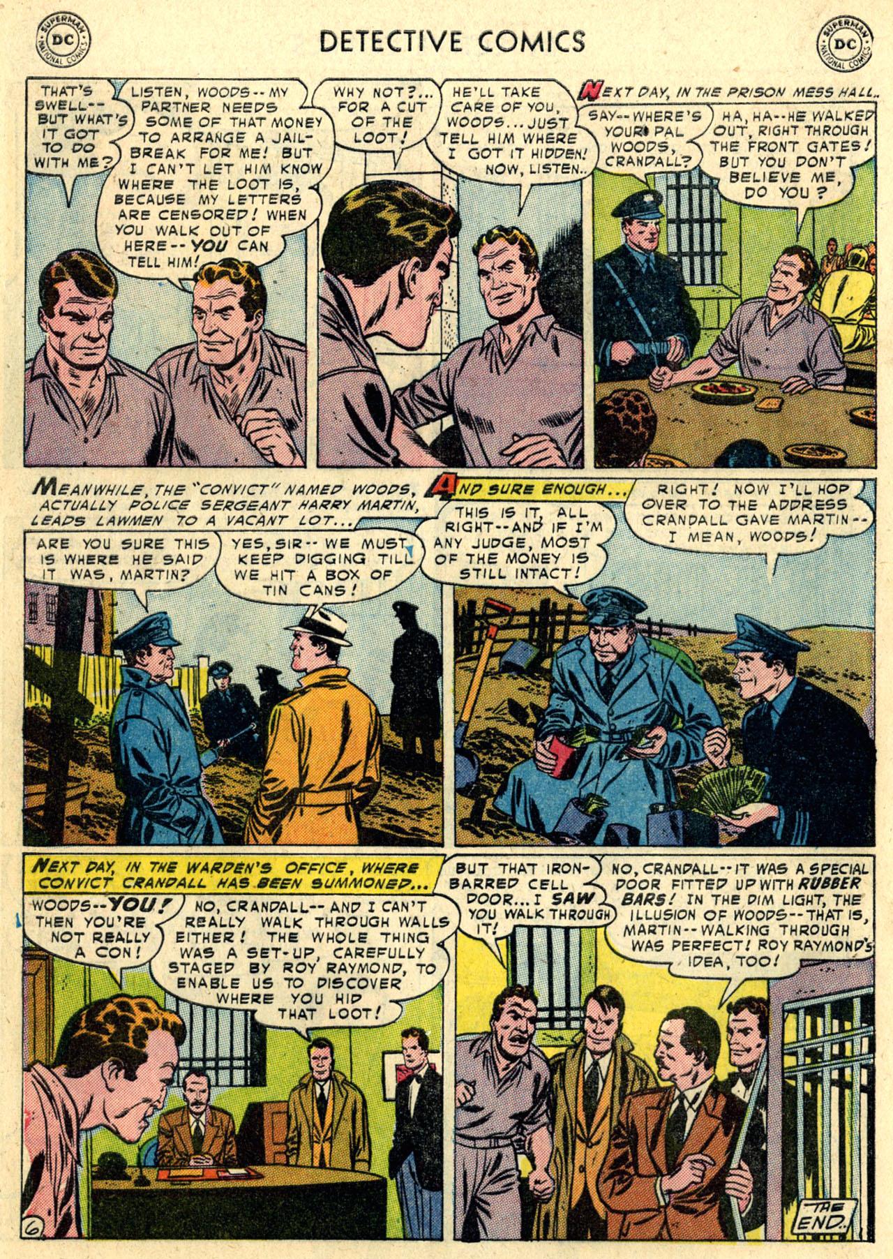 Read online Detective Comics (1937) comic -  Issue #216 - 32