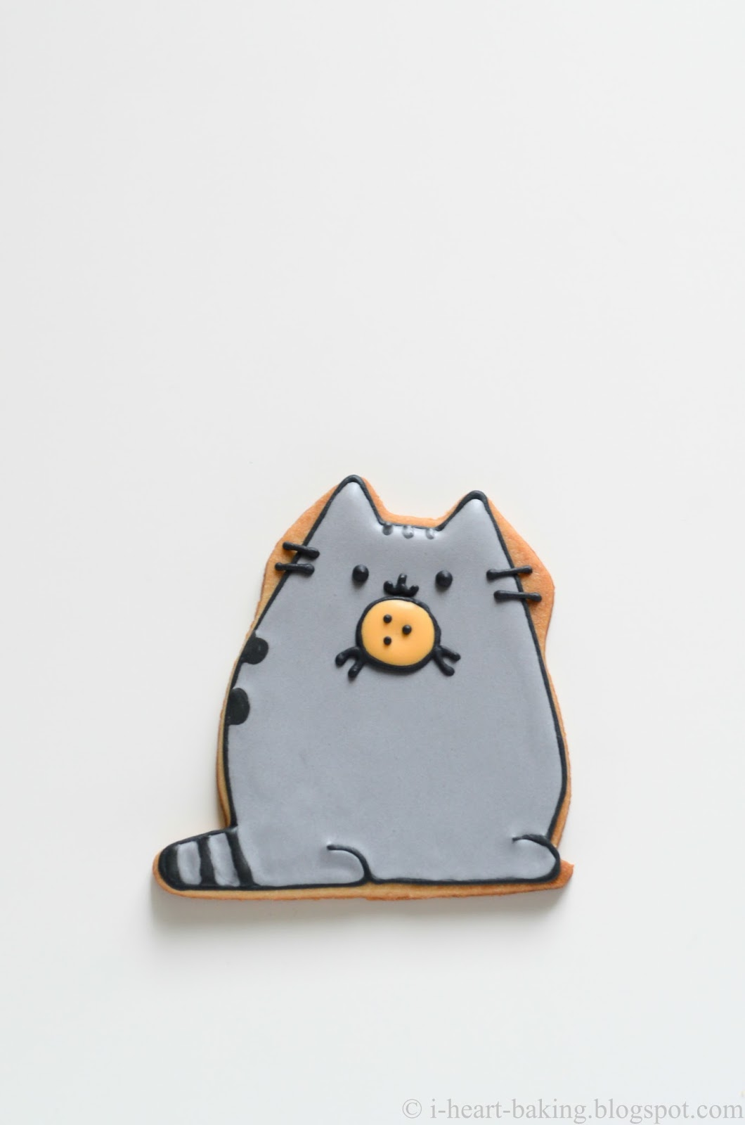 I Heart Baking Pusheen Cookies