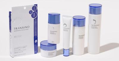Bộ sản phẩm dưỡng da và trị nám transino nhật bản