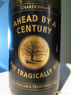 The Tragically Hip Ahead By A Century Chardonnay 2014 (88 pts)