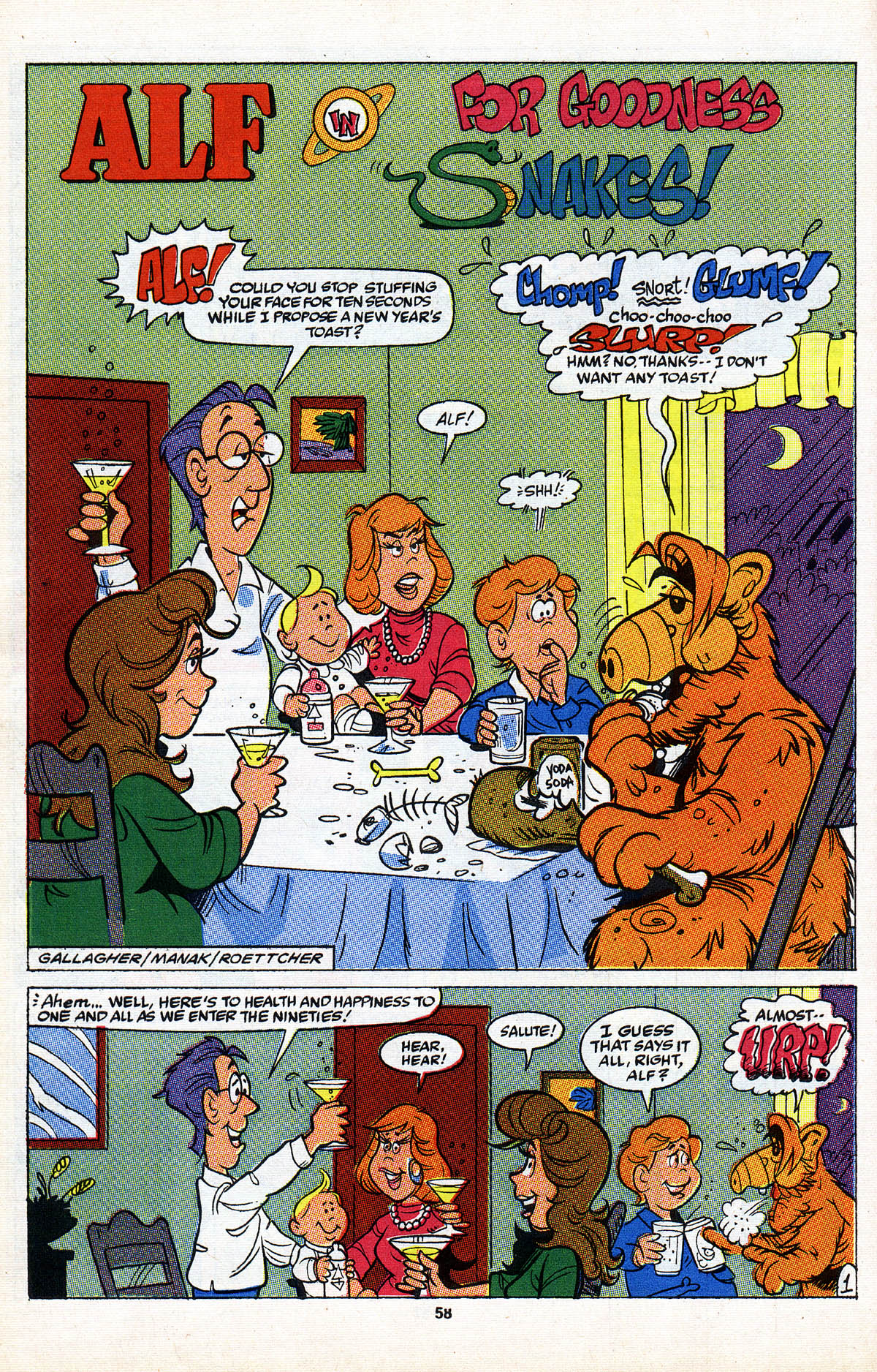 Read online ALF comic -  Issue #2 - 59