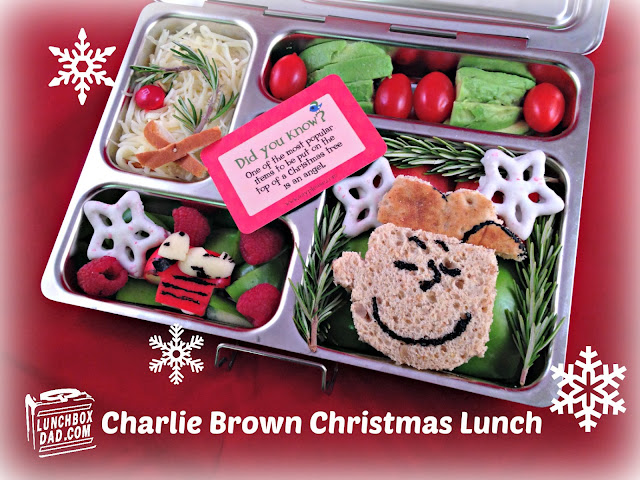 Charlie Brown Christmas Bento Lunch
