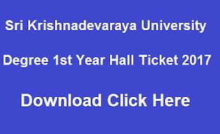 sku ug 1st year hall tickets 2017 download