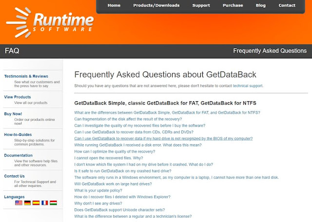 GetDataBack Simple Data Recovery for NTFS, FAT, exFAT, EXT, HFS+, & APFS