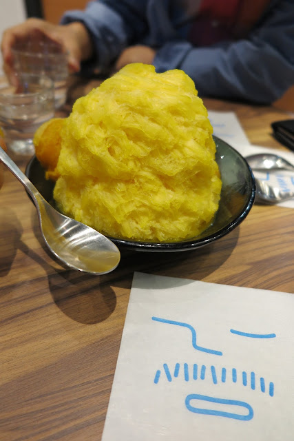 A truly monster Mango Sensation, at Ice Monster, Tokyo, Japan.