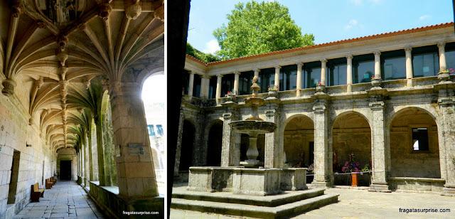 Claustro da Igreja de São Gonçalo, Amarante, Portugal