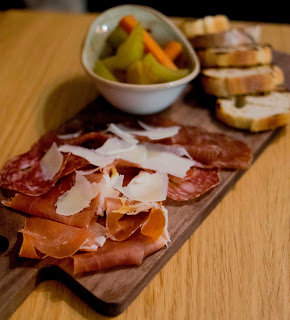 Selection of cured meats
