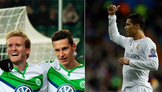 Wolfsburgo vs Real Madrid en vivo