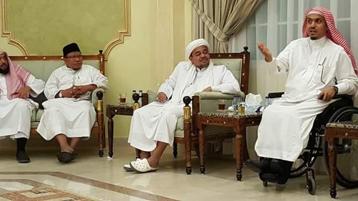Habib Rizieq Bongkar Rahasianya Pergi dari Indonesia