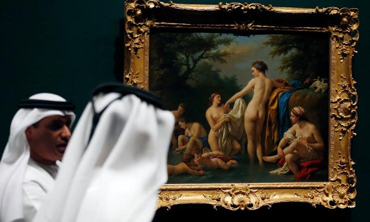 Louvre Abu Dhabi Venus and Nymphs Bathing