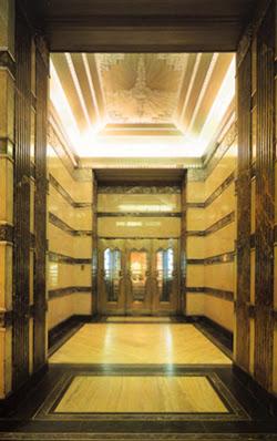 Lift lobby of Goelet Building