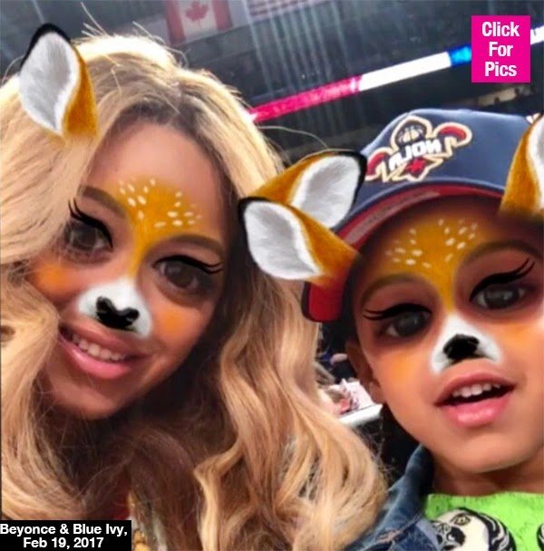 Beyonce & Blue Ivy Are Total Snapchat Pros: Does Singer Have A Secret Account? — Pic
