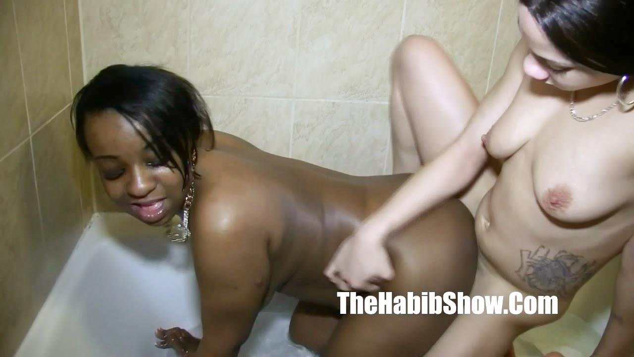 image Asa akira and skin diamond share a black dick