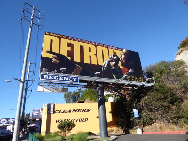 Detroit movie FYC billboard