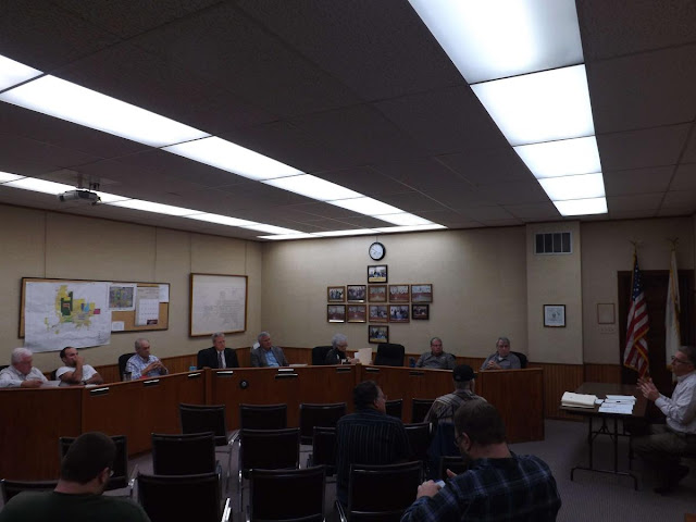 Metamora Village Board Meeting 10/17/2017, Metamora Herald