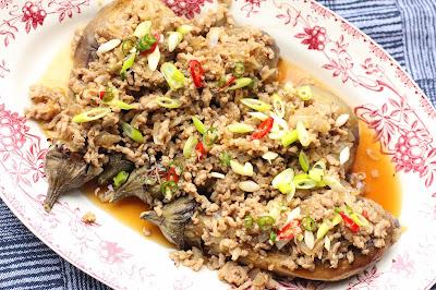 aubergines grillees vietnam