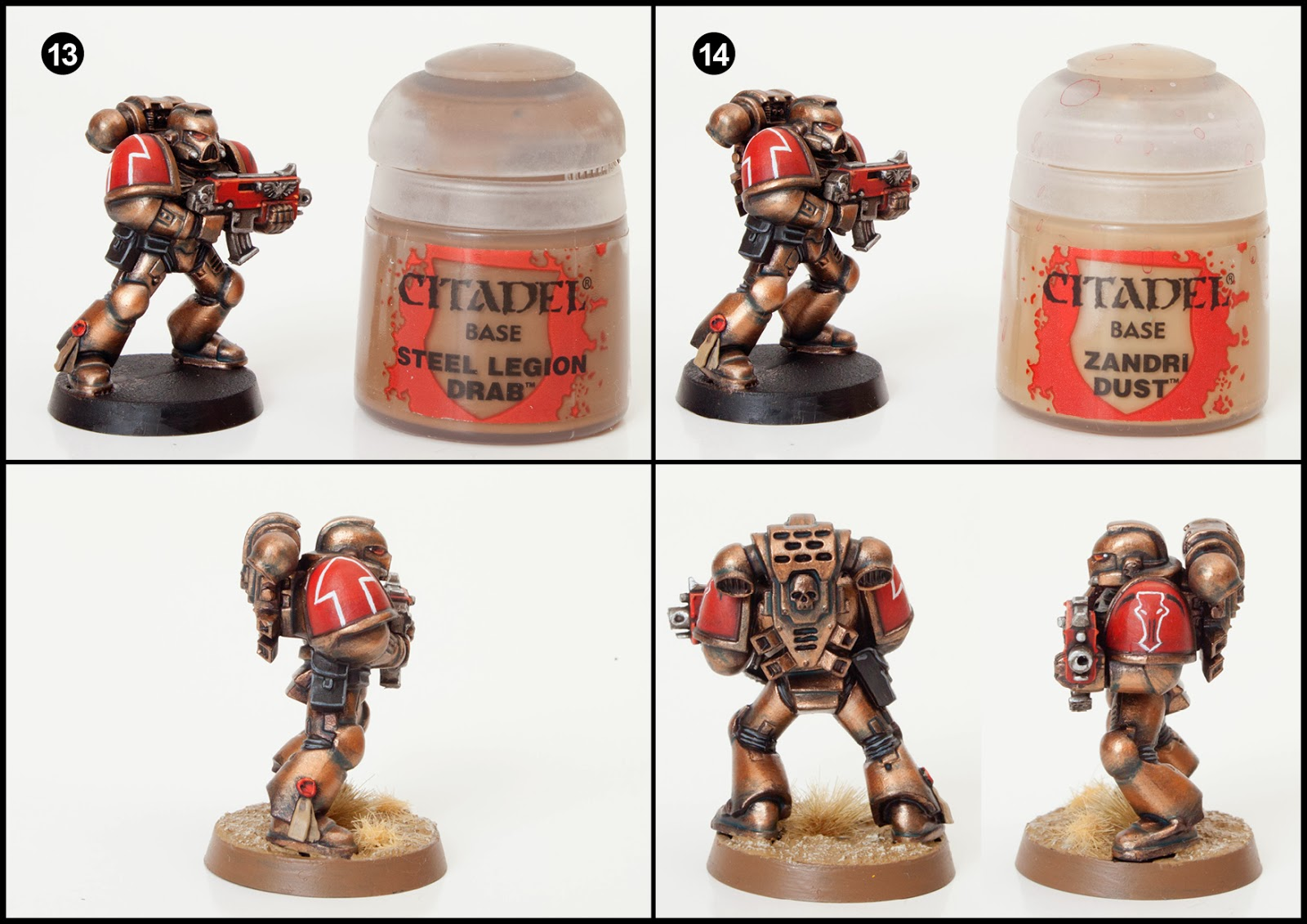 Tutorial: How to Paint Minotaurs Space Marines - Tale of ...