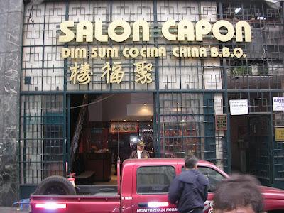 Salón Capón Barrio Chino