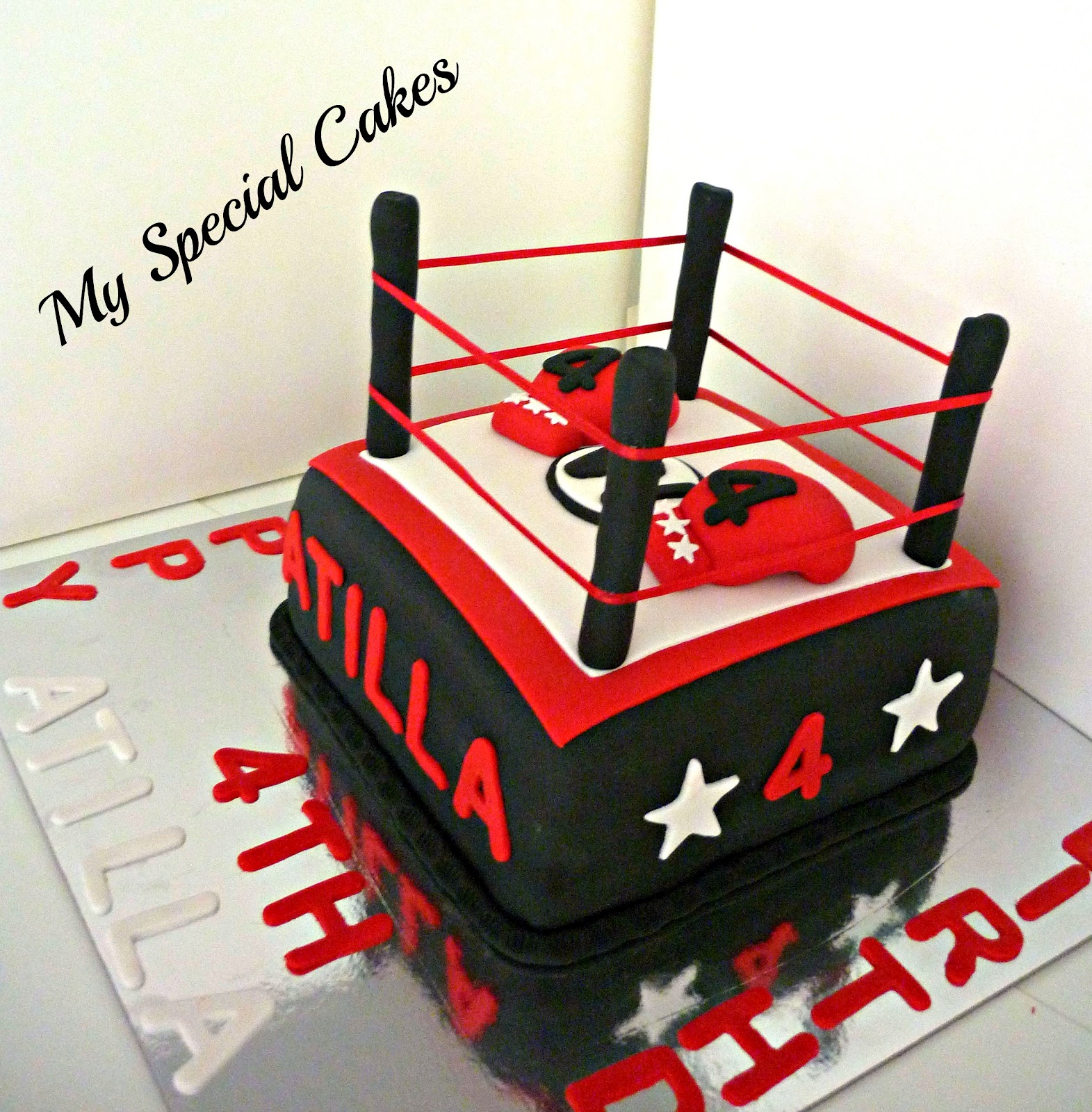 My Special Cakes Boxing Cake
