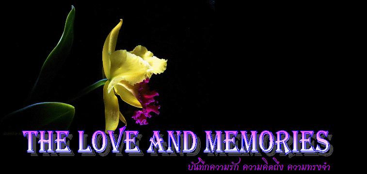บันทึกความรัก ความคิดถึง ความทรงจำ