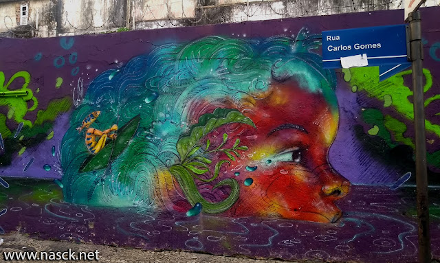 Descobrindo o Grafite_Rua Carlos Gomes/Salvador-BA
