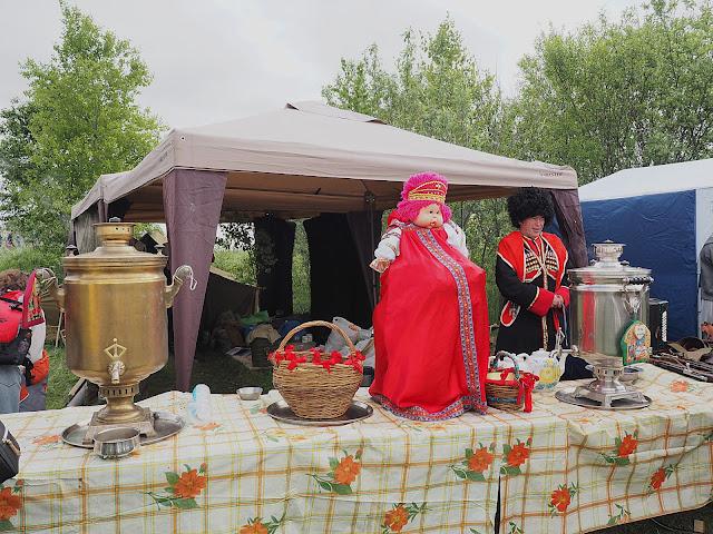 """Исторический фестиваль """"Сибирский огонь-2018"""" (Historical festival """"Siberian fire-2018"""")"""