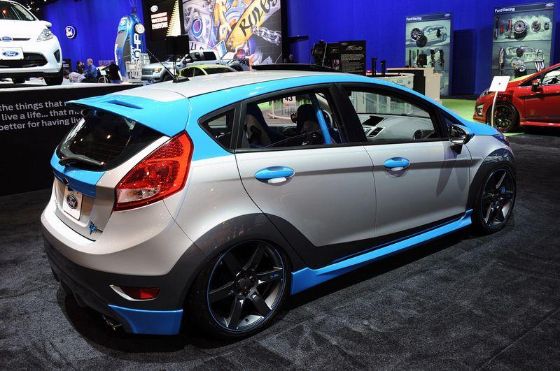 Modifiyeli Ford Fiesta Modelleri Otomobil D 252 Nyası