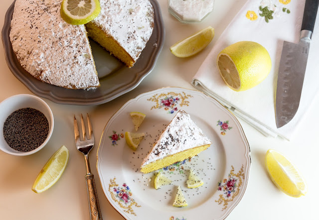 Classic lemon sponge cake recipe
