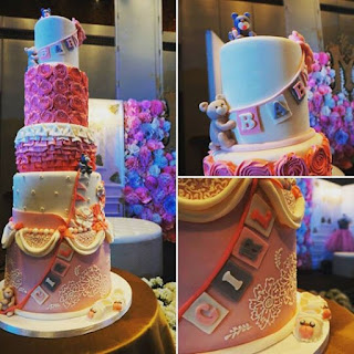 1cute baby shower cake ideas pink
