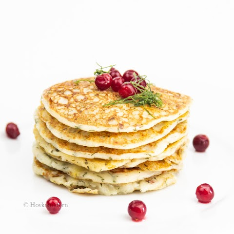 Vegan Potato & Dill Pancakes