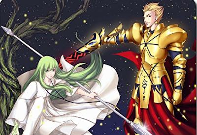 superheroes series, adventure, fantasy, story, writing, anime, fate/stay night, gilgamesh, archer, mousepad