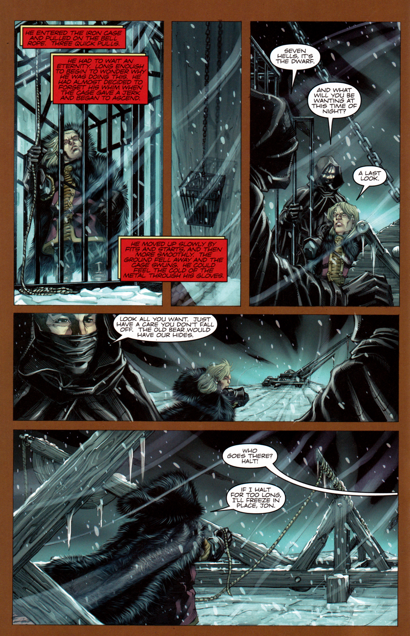 Read online A Game Of Thrones comic -  Issue #7 - 9