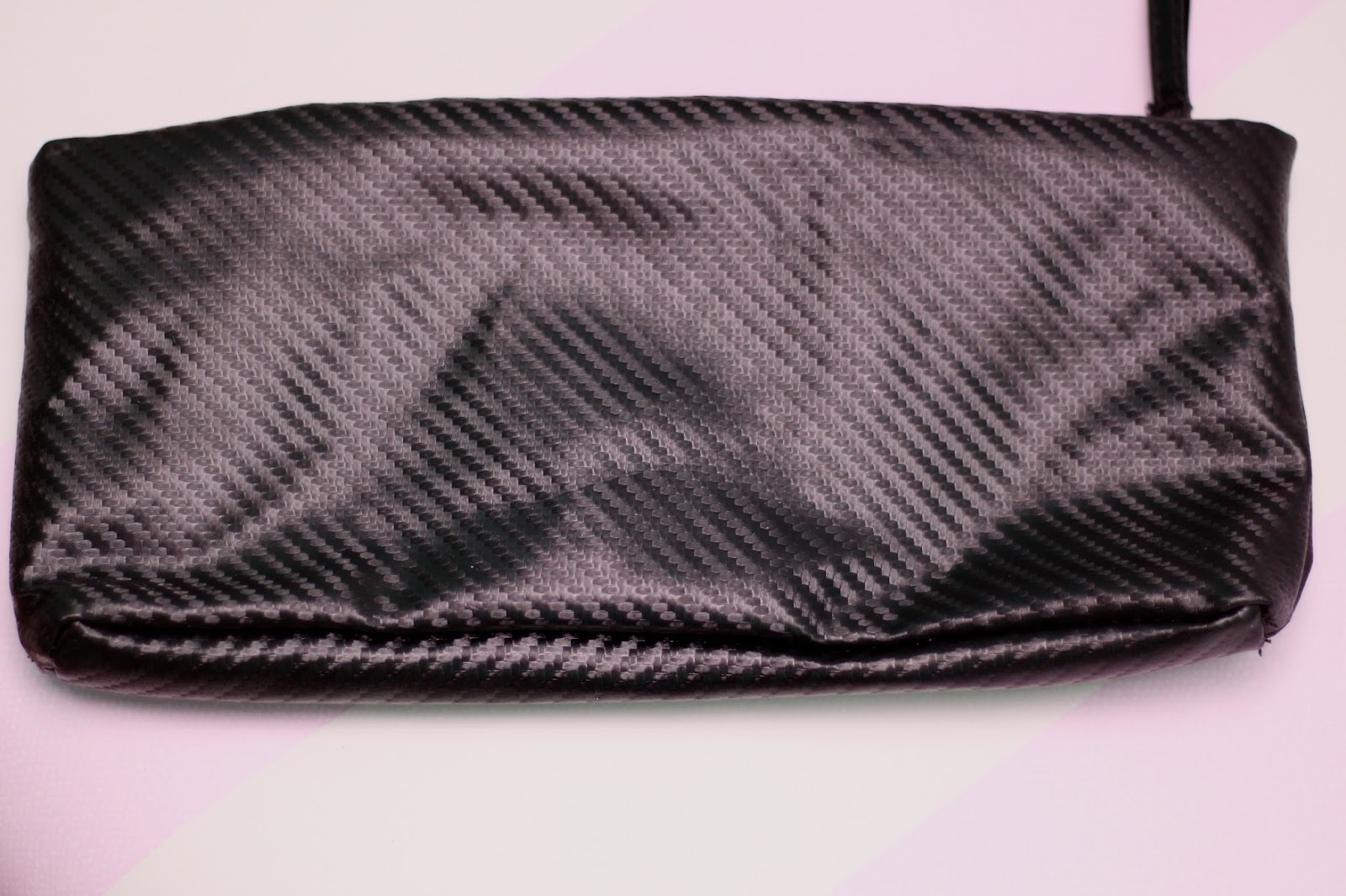 Cult Beauty Black Make Up Bag