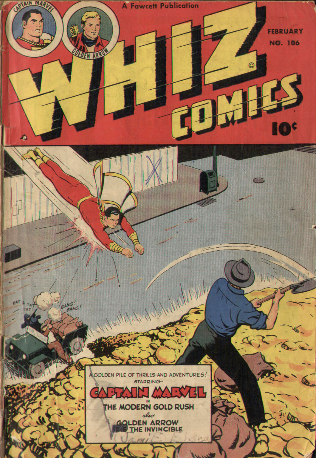 WHIZ Comics issue 106 - Page 1