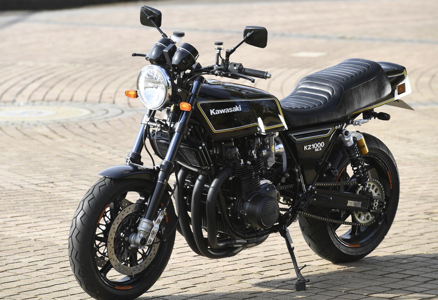 Racing Caf U00e8  Kawasaki Kz 1000 Mk